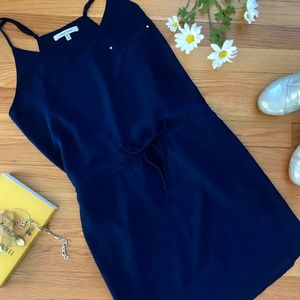 Naked Zebra Dark Blue cute Shift Dress